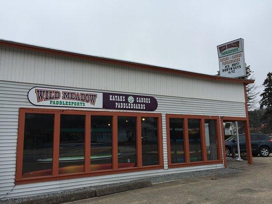 Center Harbor, Nueva Hampshire: Store Front