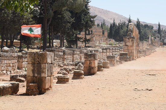 Entry to Umayyad Ruins of Aanjar, Bekaa Valley