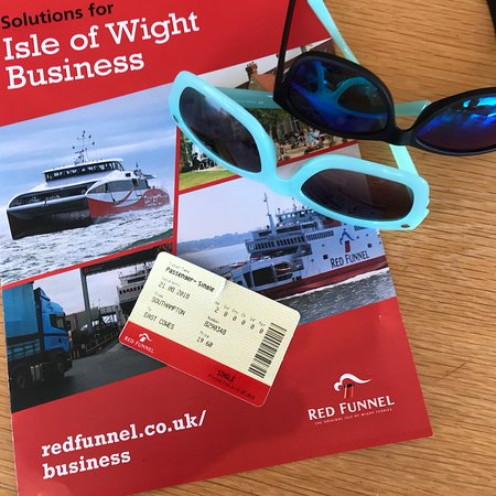Red Funnel Ferries Photo