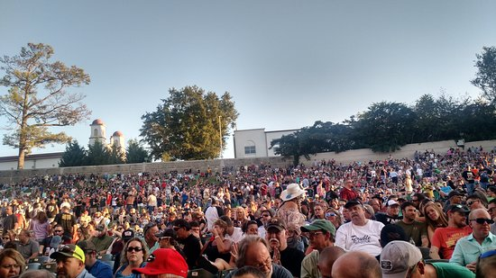Terrible View From Our Seats Picture Of Aarons Amphitheatre At