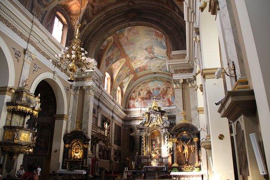 Franciscan Church (Franciskanska cerkev): interno
