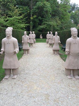 Buscot House : Terracotta Warriors