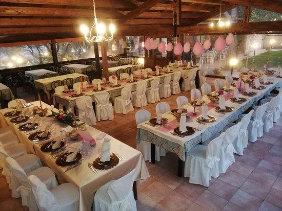 San Giovanni Gemini, Italie : Sala all'aperto