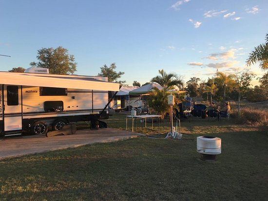 Burrum Heads, Австралия: Large sites for RV's and Campers