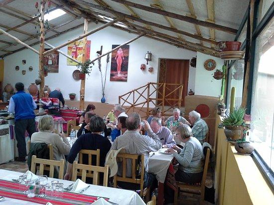 Sicuani, Perù: Comedor original para 70 comensales.