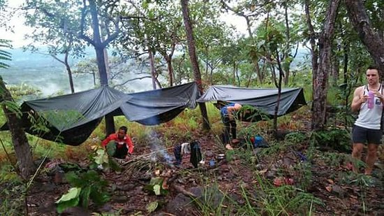 Banlung, Campuchia: Trekking up mountains in north east of cambodia,Vireachay National parks ( Kosh peack)trekk ,gre