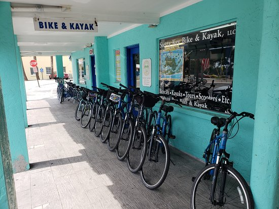 Siesta Key Bike and Kayak: Bikes