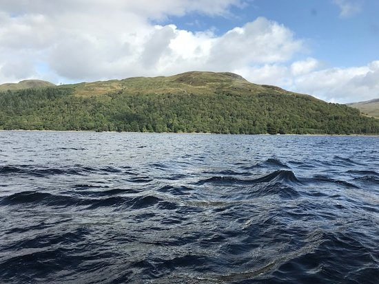 Ice Cold Waters - Picture of Loch Katrine, Loch Lomond and The
