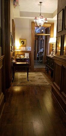 Jeffersonville, IN: Hallway of restored Inn