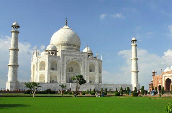 Excursión privada al Taj Mahal y Agra...