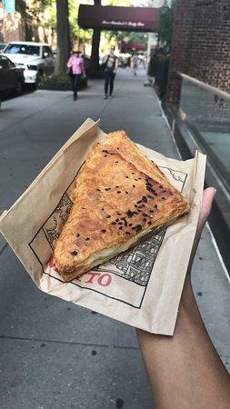 New City, NY: hot cheese boureka