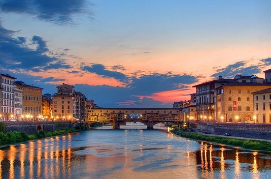 Best of Florenz Tour bei Nacht