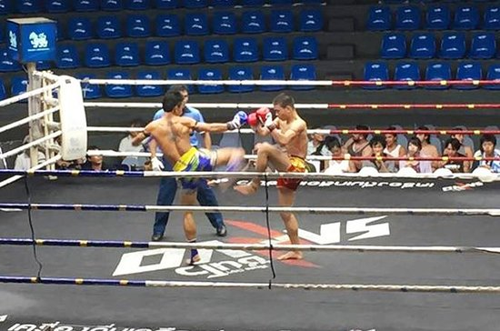 Muay Thai Billett (VIP Ringside sete...
