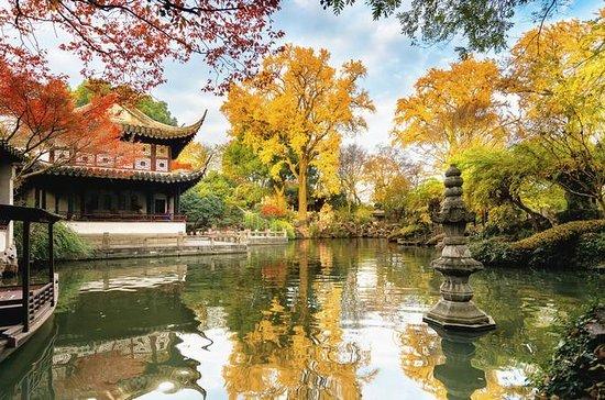 トンリウォータータウンの2日間蘇州私有観光ツアー