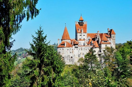 Dracula's Castle on a nature