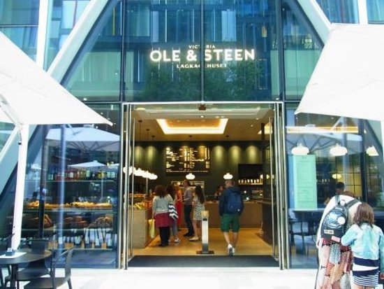 Ole & Steen: お店の外観
