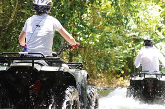Tour di 3 ore in ATV e 5kms Rafting