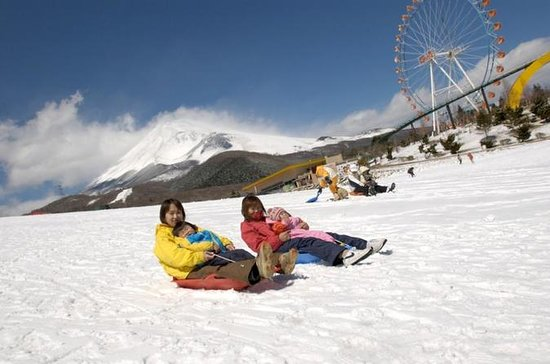 Fuji  2nd Station  Sledding ,Hakone...