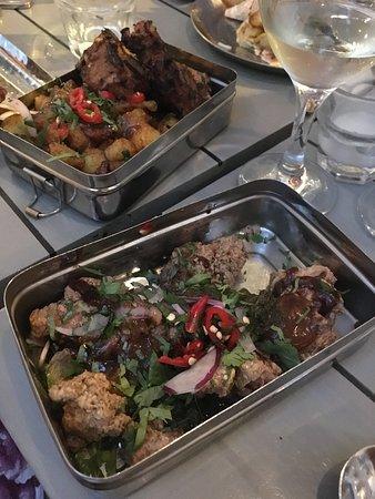 Lamb Chops & Gunpowder Chicken