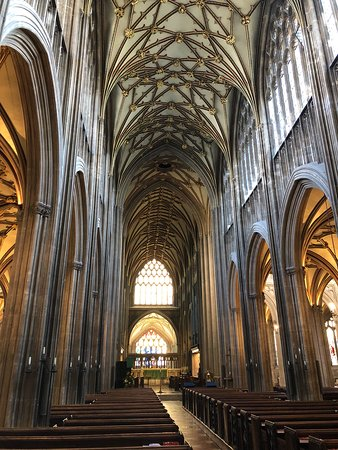 St Mary Redcliffe Church: Main nave