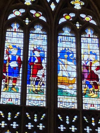 St Mary Redcliffe Church: John Cabbot and the Metthew