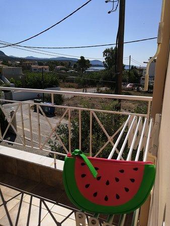 Plitra, Greece: Από το μπαλκόνι
