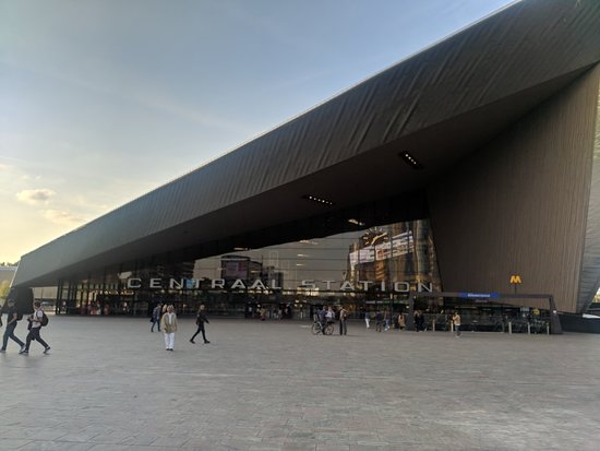 Rotterdam Central Station Picture Of Rotterdam Centraal