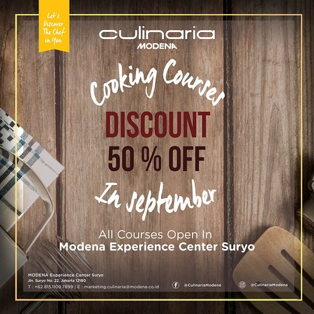 Culinaria Modena (Cooking Course)