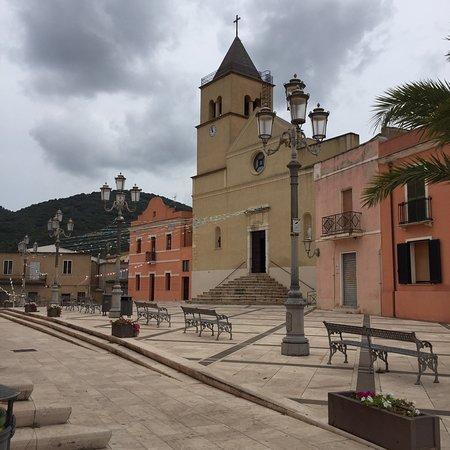 Teulada, Italie : Chiesa della Vergine del Carmine