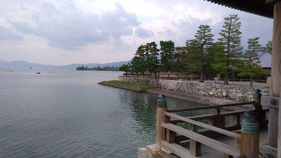 Shiga Prefecture, Japón: 浮御堂から