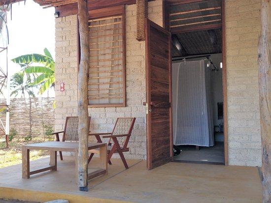 Ibo, Mozambique: la veranda davanti alal camera