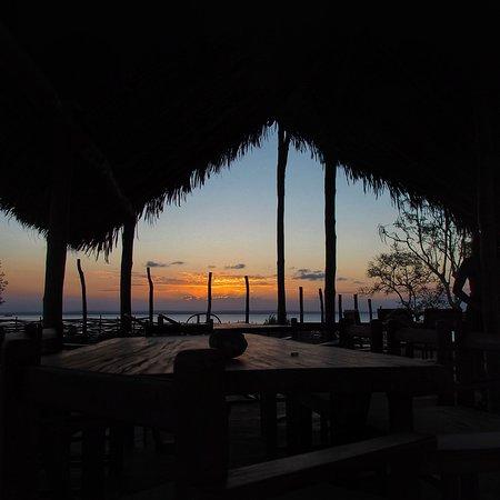 Ibo, Mozambique: tramonto dalla zona relax-colazione-bar