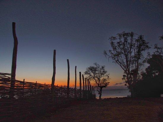 Ibo, Mozambique: tramonto visto dall area comune
