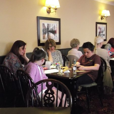 Barmby Moor, UK: They also hold themed afternoon tea and revived a letter from the lady in waiting on behalf of t