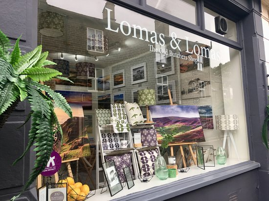 Lomas & Lomas gallery & interiors store in Hayfield. Home to Garry Lomas Photography.