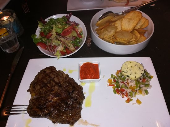 Holsteiner Ribeye 350 Gr Toll Foto Van Restaurant Zagreb Antwerpen Tripadvisor