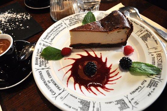 Le NY Cheesecake du Nemrod.