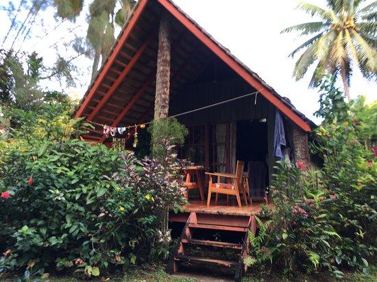 Atiu, Ilhas Cook: cabaña