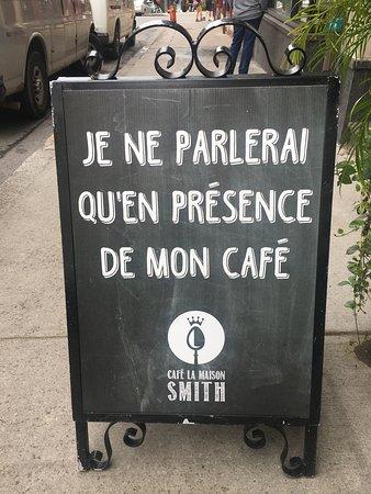 Café La Maison Smith Place-Royale Photo