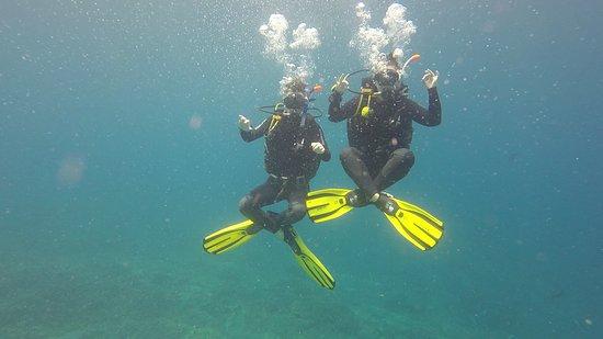 Big Fish Diving: Buddha position