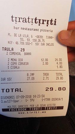 Tiana, إسبانيا: 20180907_142435_large.jpg