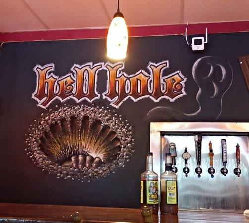 Hell Hole Bar Sign