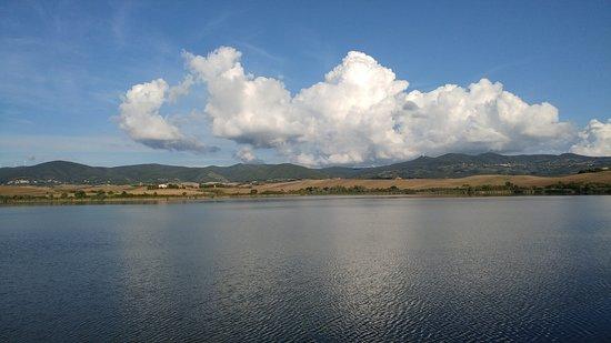 Panoramica Lago Santa Luce