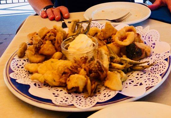 Restaurante Araceli: Fritura de pescado