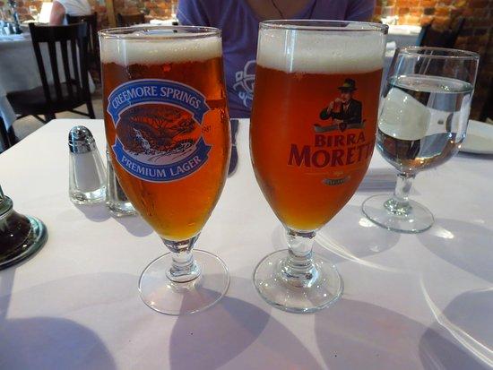 Ciccio Cafe: とりあえずビール