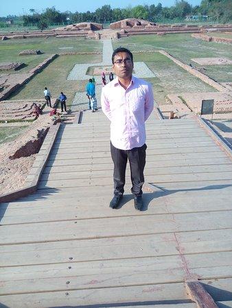Paharpur, بنجلاديش: Buddhist Vihara at Paharpur