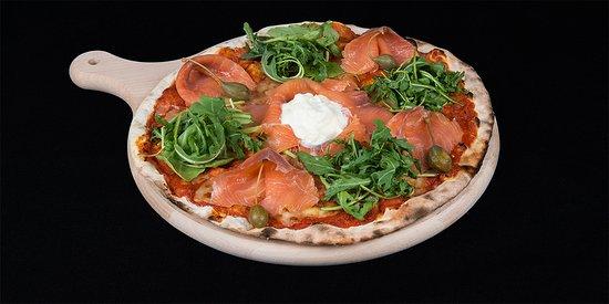 L'Attique Nyon - Pizza au saumon