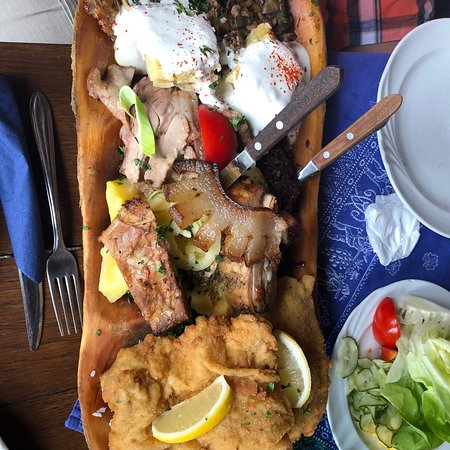Typical Hungarian food