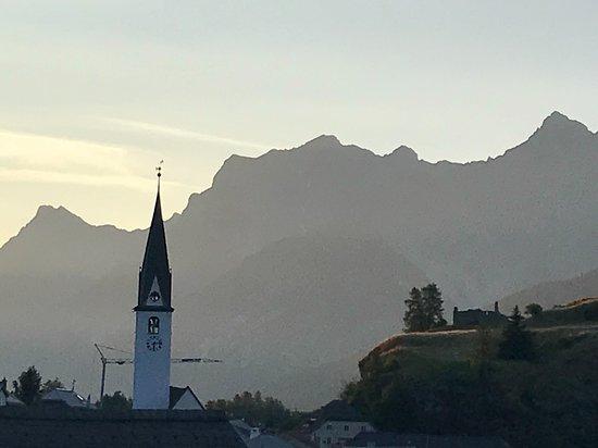 Ardez, Suíça: am Abend