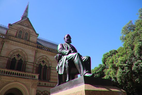 Sir Walter Watson Hughes Statue
